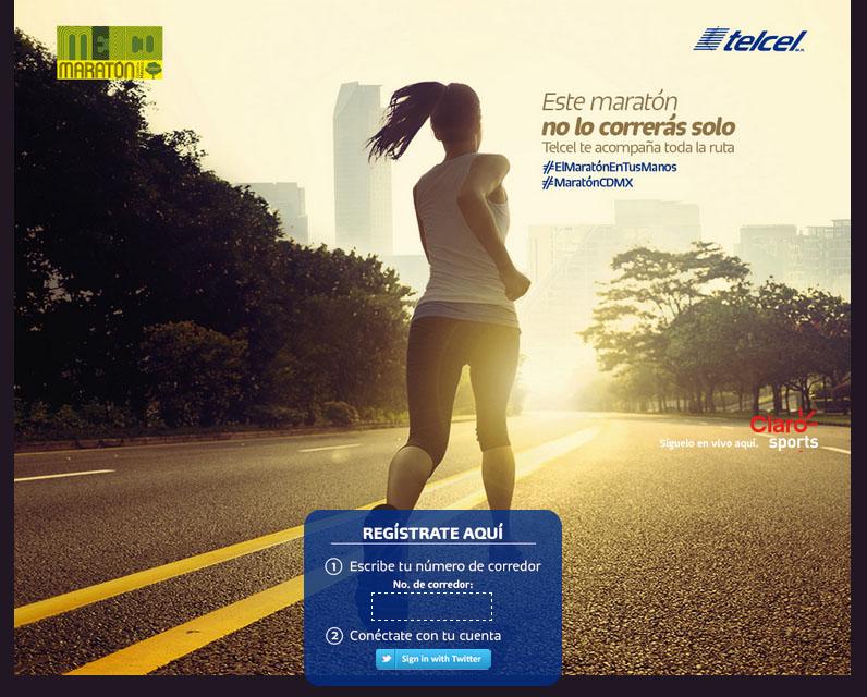 Telcel - Maratón de la Ciudad de México