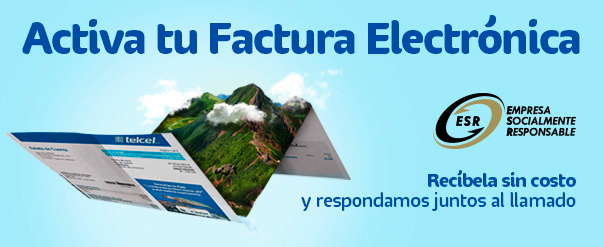 Factura electrónica Telcel