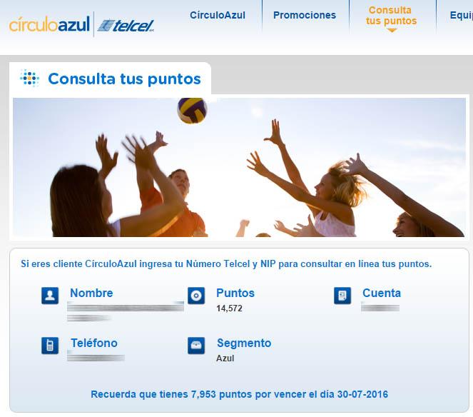 CírculoAzul Telcel - puntos