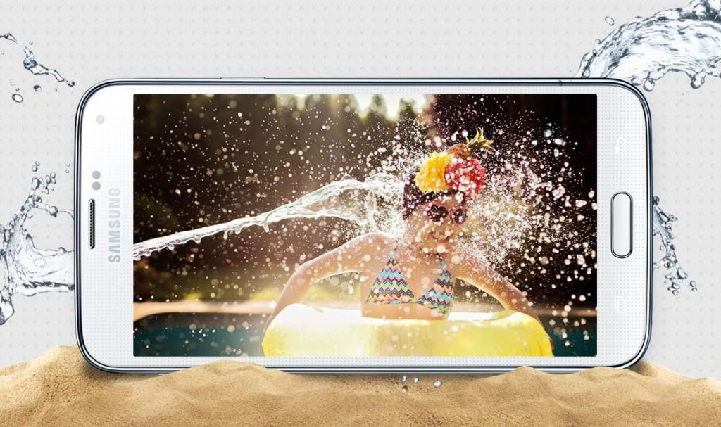 Galaxy S5 resistente al agua