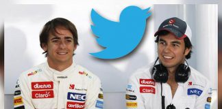 Sergio Pérez - Esteban Gutiérrez en Twitter