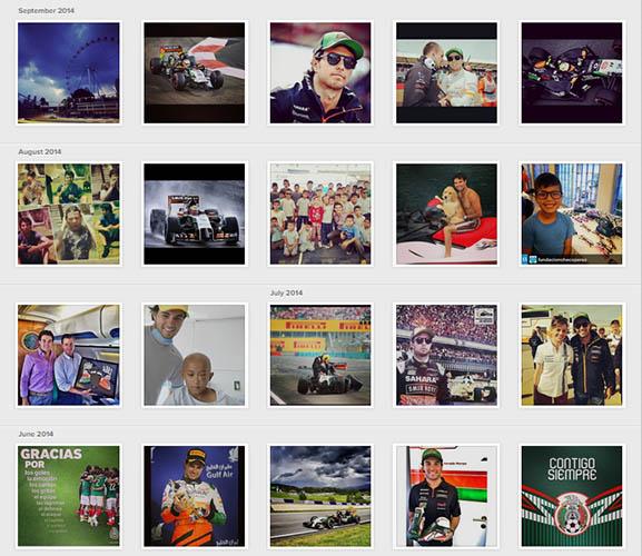 Checo Pérez Instagram