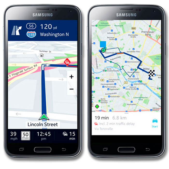 Nokia Here para Android