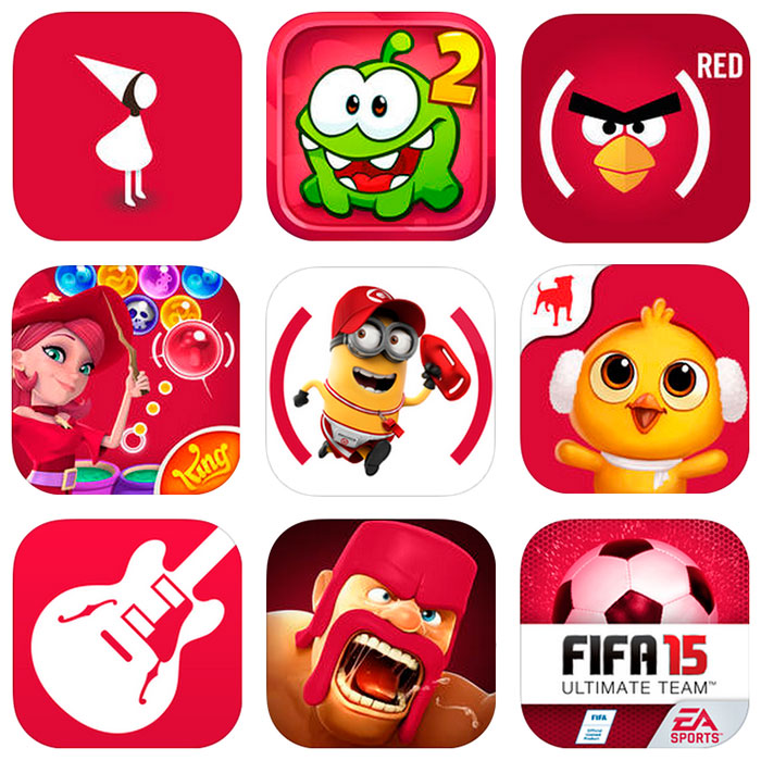 App-store---apps-for-red