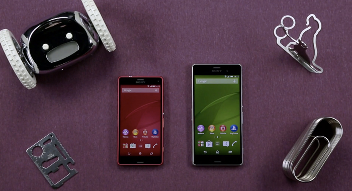 Video: Xperia Z3 y Z3 Compact