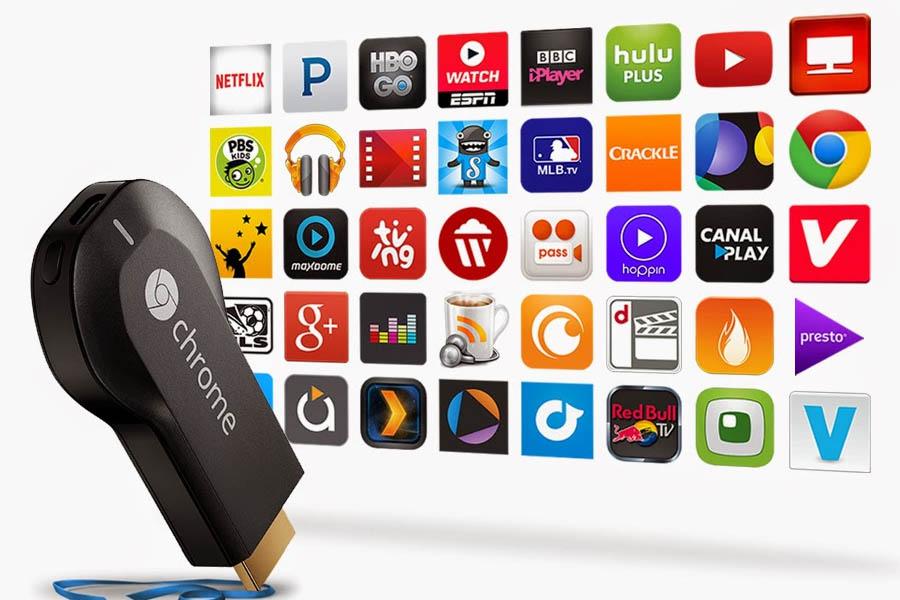 apps chromecast 2