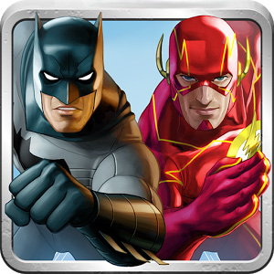 Batman & Flash hero run
