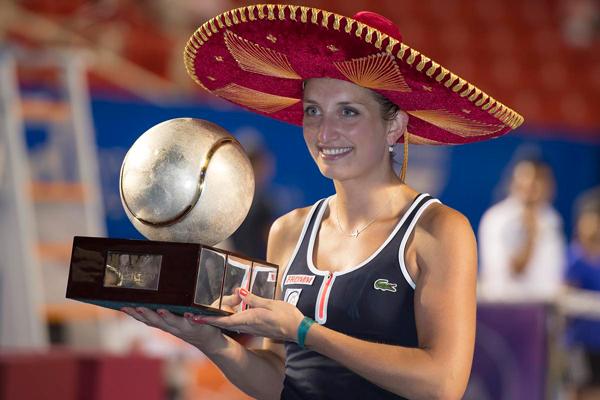 Timea Bacsinszky, reina del Abierto Mexicano de Tenis