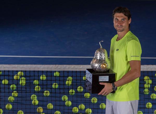 David Ferrer, tetracampeón del Abierto Mexicano de Tenis