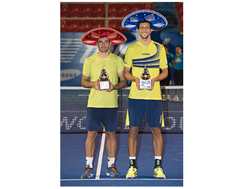 Dodig y Melo se llevan su primer título en México