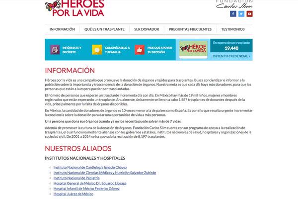 información Hxv