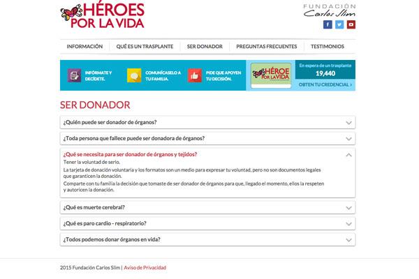 ser donador