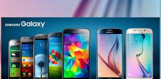 Evolución de la familia Galaxy S