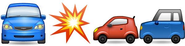 emoji-coche