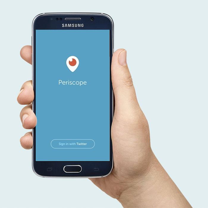 La aplicaci n de periscope est lista para tu celular for Primicias ya para movil