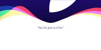 Conferencia del 9 de septiembre de Apple