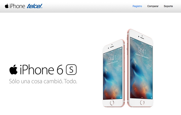 Registro previo para tener el nuevo iPhone 6S