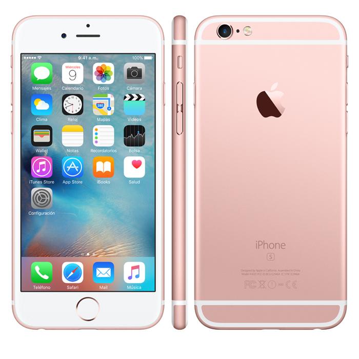 precio de iphone 6s rosa