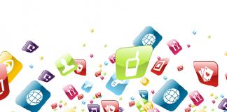 Apps en la pantalla principal del iPhone