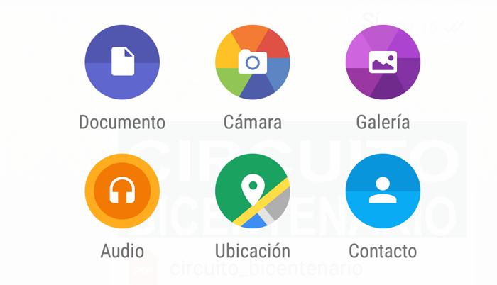 WhatsApp permite compartir documentos