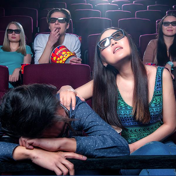 Las gafas suelen ser uno de los motivos por los que la gente no disfruta del 3D