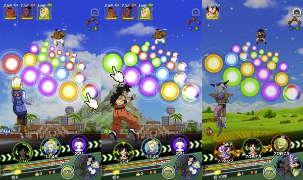 Debes recolectar todo el ki que puedas para vencer a los enemigos. Foto: jeuxvideomobile.com