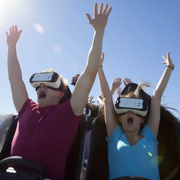Six Flags realidad virtual