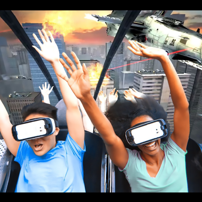 Realidad Virtual Six Flags