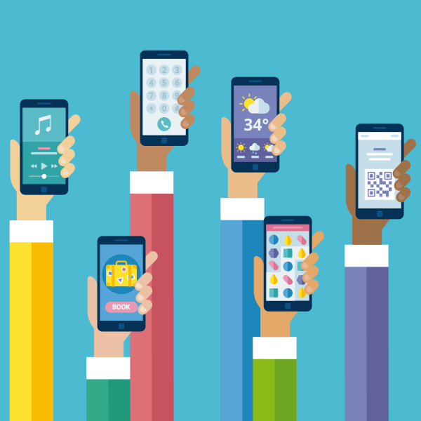 Las apps de mensajería son las más populares en los smartphones.
