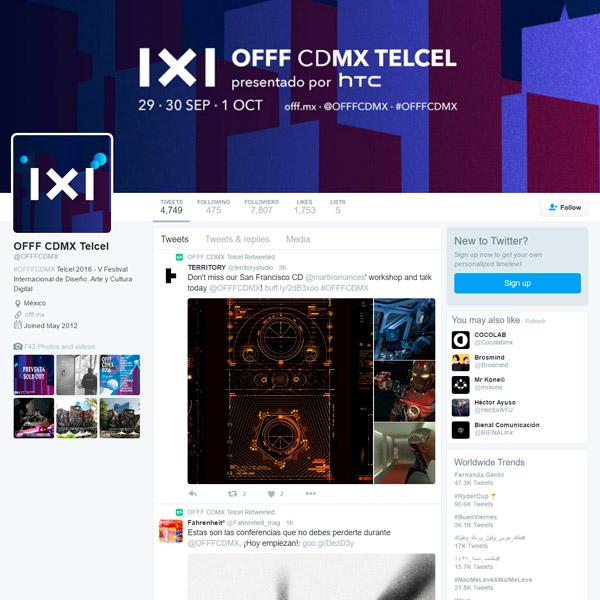 OFFF CDMX 2016
