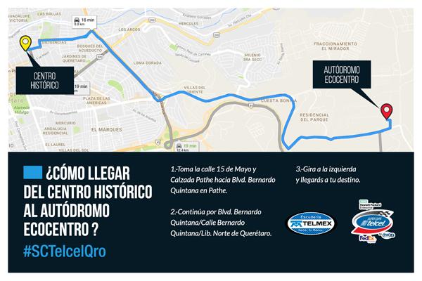 SCT-Querétaro-mapa