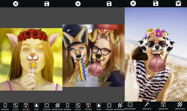Haz tus fotos más divertidas al decorarlas con máscaras, stickers, textos y marcos. (Foto: Google Play)