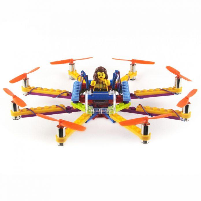 dron de legos