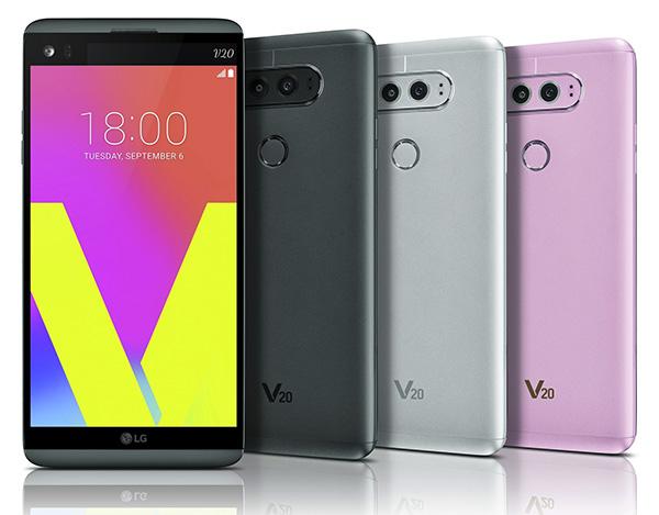 LG V20 cámara