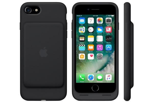 Con esta carcasa el iPhone 7 tiene más batería. (Foto: Apple)