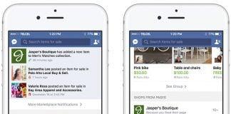 Facebook Groups, Marketplace
