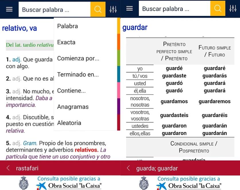 diccionario app