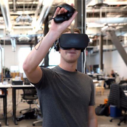 Mark Zuckerberg oculus