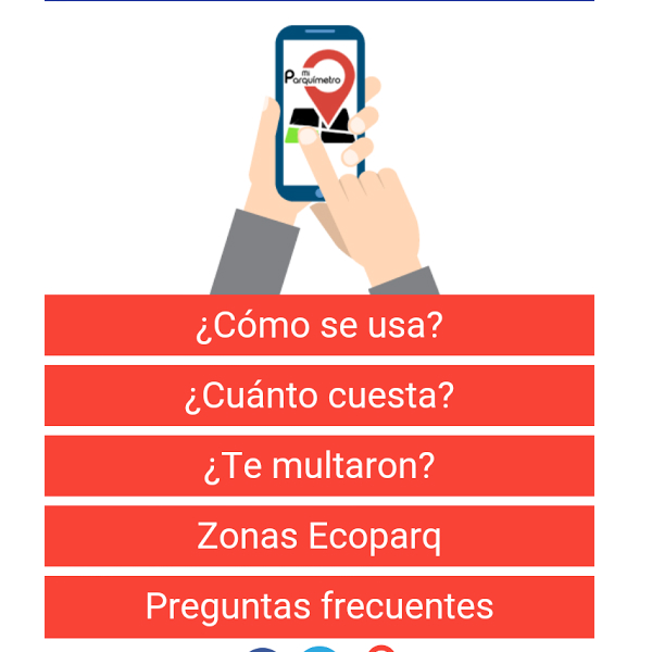 La aplicación ofrece asesoría en caso de problemas al no pagar el Parquímetro. (Foto: Mi Parquímetro)