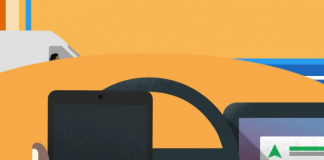 La aplicación Android Auto se conecta a la pantalla de los autos inteligentes.