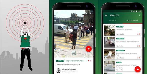 Denuncia irregularidades o conductas inapropiadas que detectes en las calles. (Foto: Google Play)