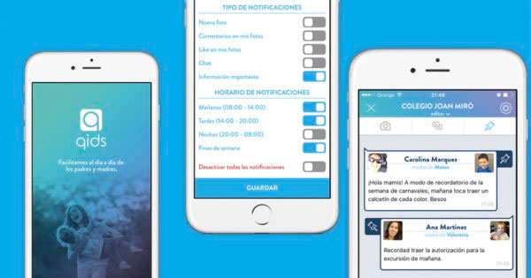 Para agregar a otros contactos, sólo tienes que invitarlos a través de WhatsApp. (Foto: qidsapp.com)