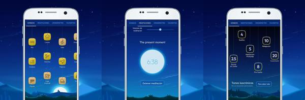 Elige la combinación de música y sonidos que te ayudarán a dormir. (Foto: Google Play)