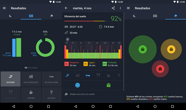 Monitorea tu descanso y crea mejores hábitos para dormir. (Foto: Google Play)