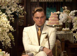 Leonardo DiCaprio con vestuario de la película Gatsby