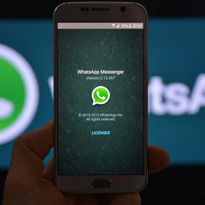 borrar mensajes en WhatsApp
