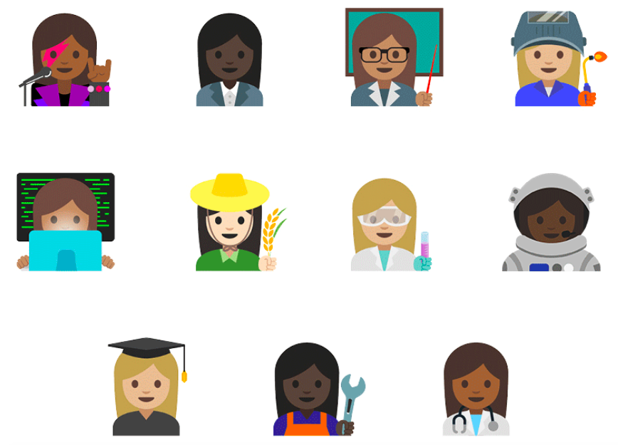 emojis Android 7.1.1