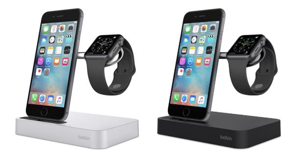 Carga tu iPhone y tu Apple Watch al mismo tiempo. (Foto: Belkin)
