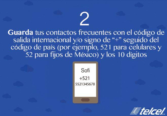 Contactos Telcel