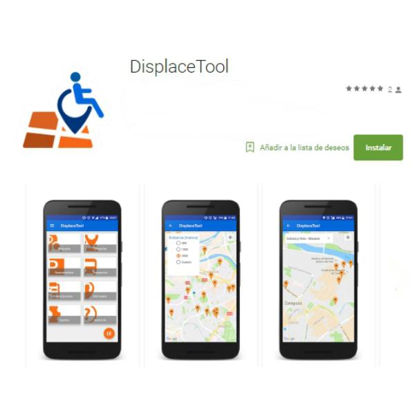 Displace Tool muestra en pantalla los sitios adaptados con rampas. (Foto: Displace Tool)